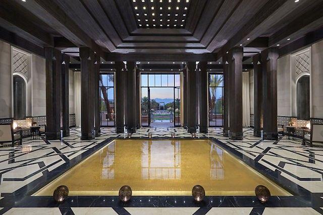 Mandarin Oriental Marrakech lobby