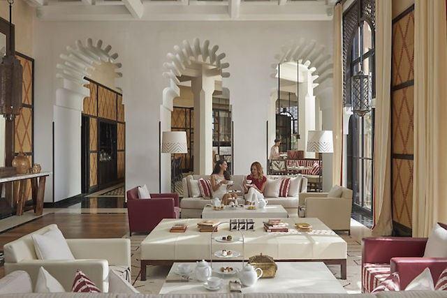 Mandarin Oriental Marrakech lounge