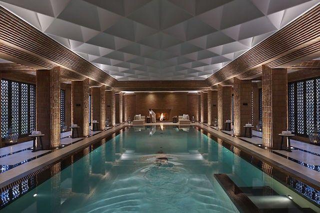 Mandarin Oriental Marrakech pool