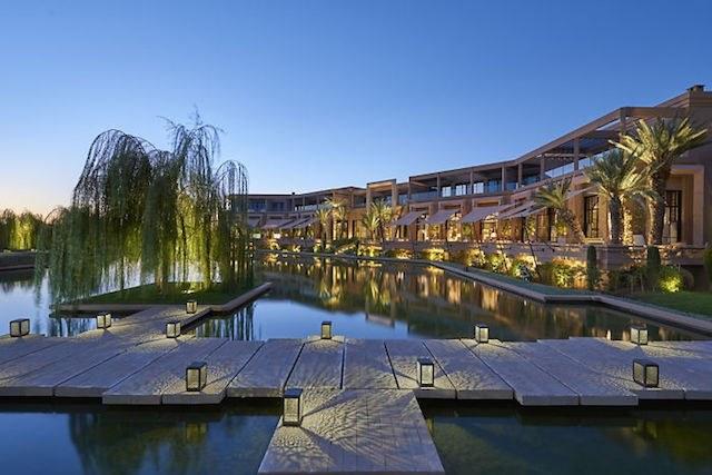 Mandarin Oriental Marrakech water path