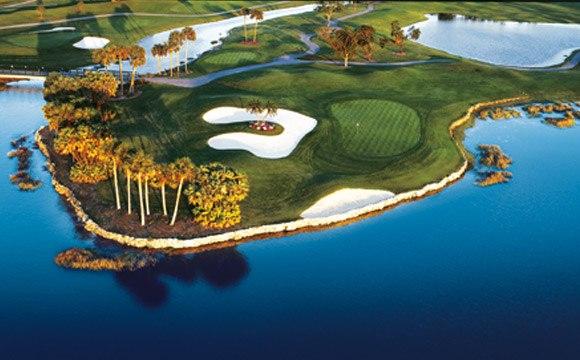 PGA National Resort & Spa Golf Course Lake View