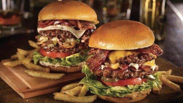 Stacked Hamburger