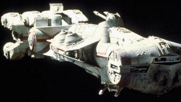 Blockade Runner Spaceship Model