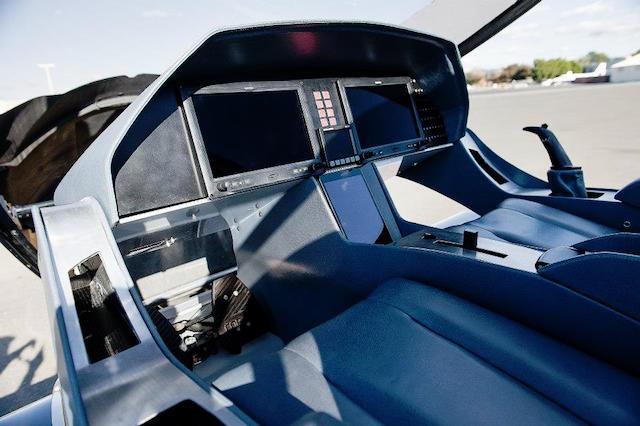 Cobalt Co50 Valkyrie cockpit