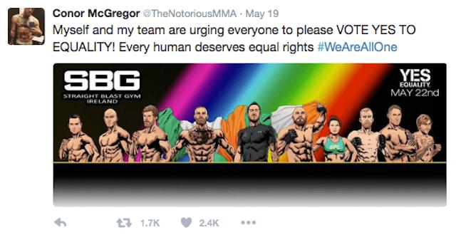 Conor McGregor Gay Rights