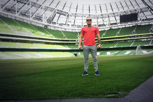 Conor McGregor Soccer