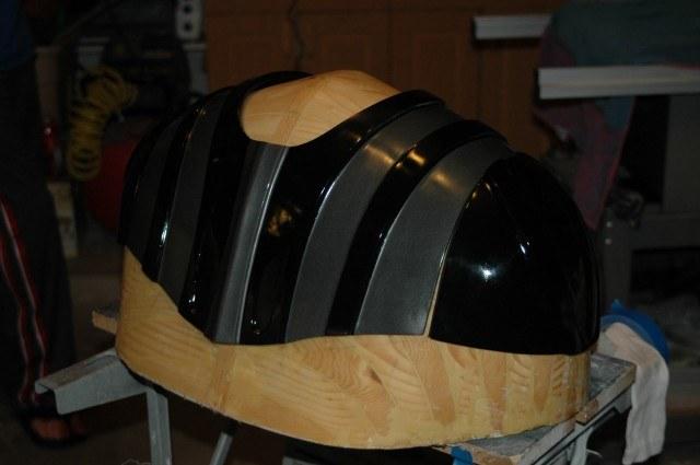 Darth Vader's Helmet and Shoulder Armor