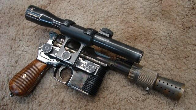 Han Solo's Laser Blaster