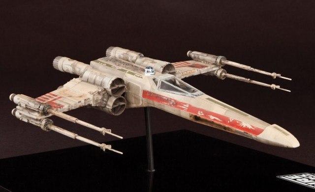 Luke Skywalker's X-Wing Fighter Model