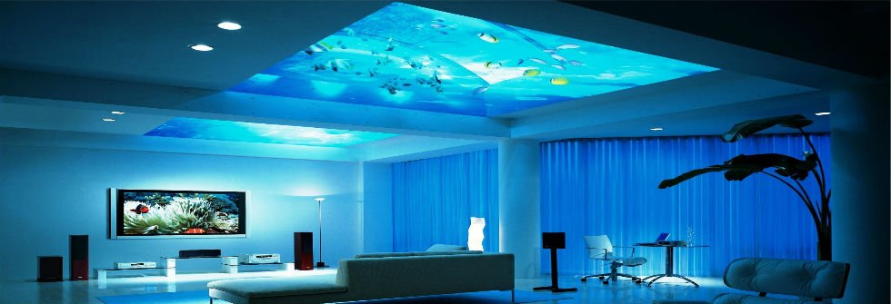 modern home decor aquarium