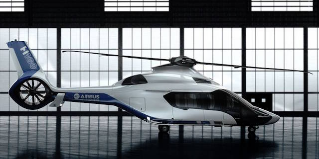 Peugeot Teams Up With Airbus To Design The H160 Helicopter