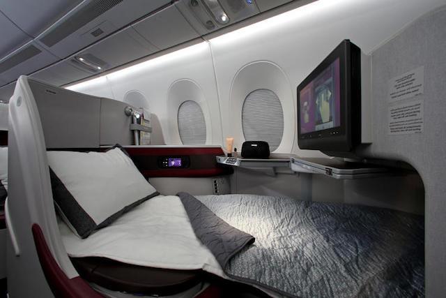 Qatar Airways and Airbus interior