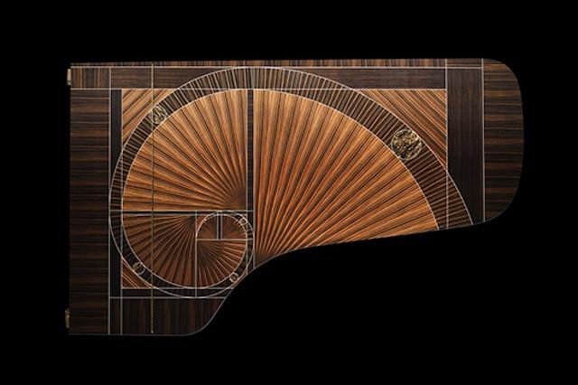 Steinway & Sons 600,000th piano The Fibonaci