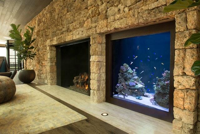 400 gallon living room fish tank