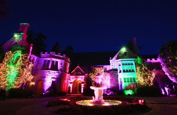 Hugh Hefner Hosts Annual Midsummer Night's Dream Party At The Playboy Mansion