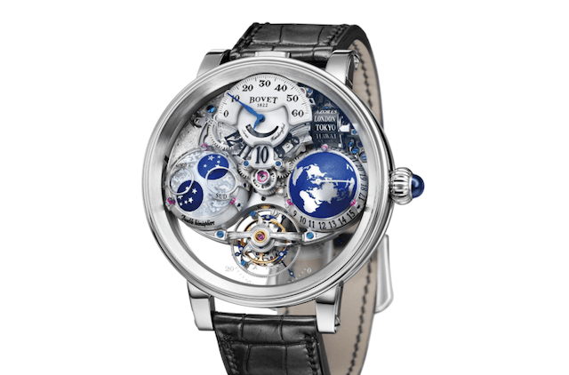 Bovet Unveils The Incredible Récital 18 The Shooting Star Timepiece