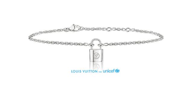 Louis Vuitton UNICEF SIlver Locket bracelet