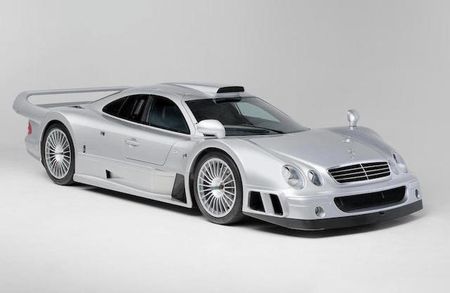Mercedes-Benz CLK GTR Coupé Could Fetch $2.2 Million at Bonhams Auction
