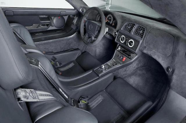 Mercedes-Benz CLK GTR Coupé interior