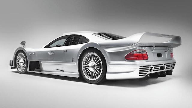 Mercedes-Benz CLK GTR Coupé rear