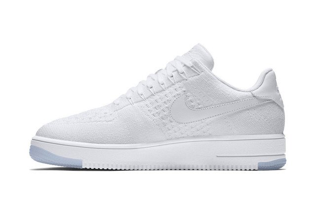 Nike Air Force 1 Flyknit white 2