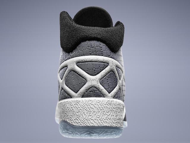 The Air Jordan XXX heel
