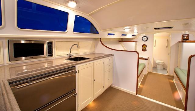 Vendetta Zurn Yacht Design Billy Joel interior 2