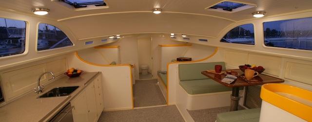 Vendetta Zurn Yacht Design Billy Joel interior