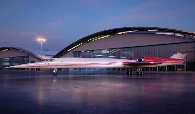 Aerion AS2 Supersonic Jet 3