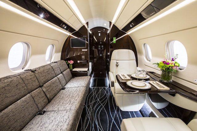 Jackie Chan Embraer Legacy 500 2