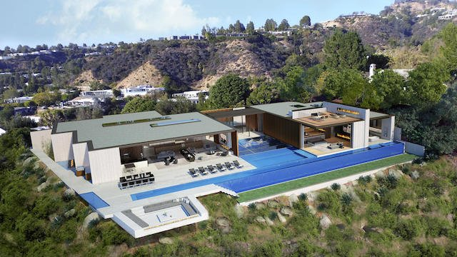 This $100 Million Beverly Hills Spec Home Will Come With Its Own Private Nightclub