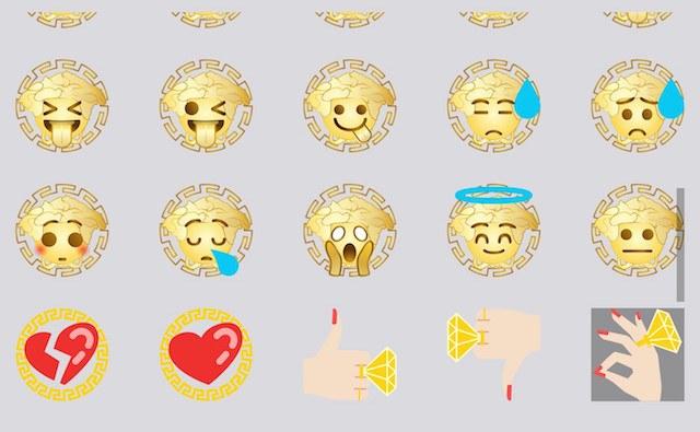 Versace Emoji 2