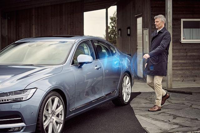 Volvo Phone Key Application