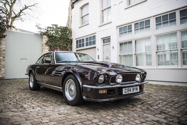 Elton John 1985 Aston Martin V8 Vantage 3