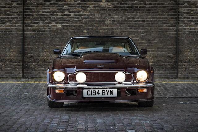 Elton John 1985 Aston Martin V8 Vantage front