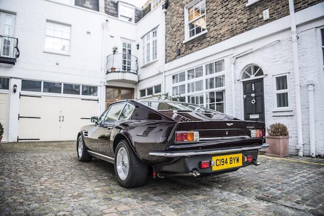 Elton John 1985 Aston Martin V8 Vantage rear