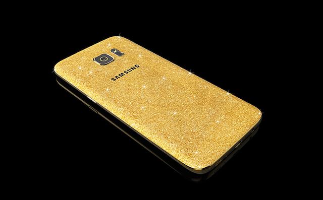 Goldgenie 24K Gold Samsung Galaxy S7 S7 Edge