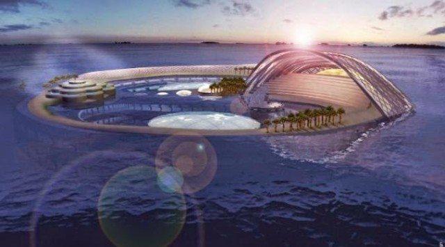 Crescent Hydropolis (Dubai, United Arab Emirates)