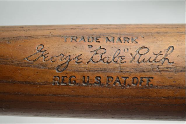 babe ruth 1932 bat