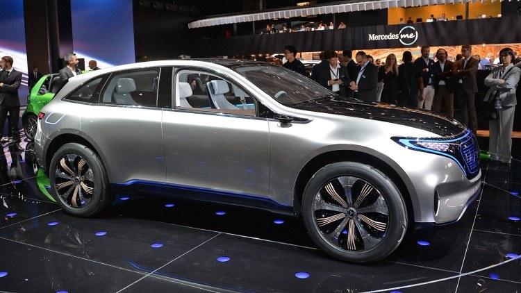 2017 Mercedes-Benz Generation EQ Concept