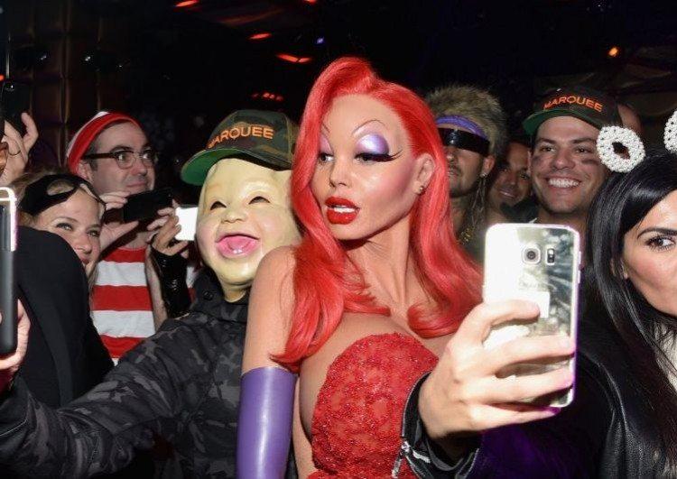 Heidi Klum Halloween Party