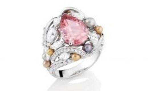 Likoma Pink Tourmaline Ring