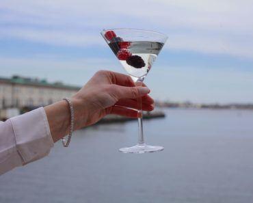 Del Frisco's $10,000 Martini 1