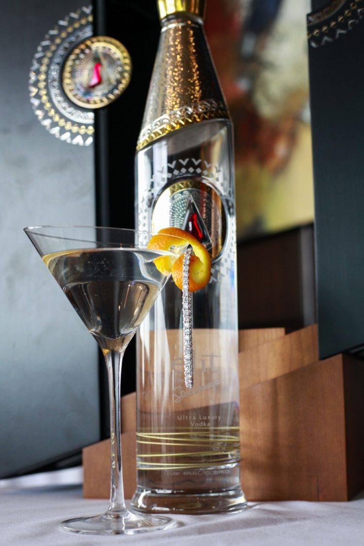 Del Frisco's $10,000 Martini 2