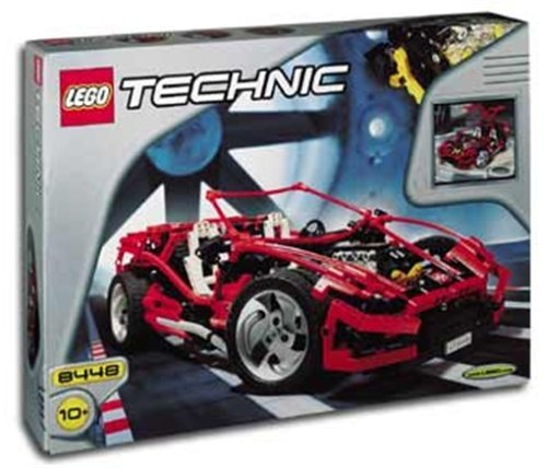 lego red car